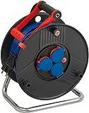 Brennenstuhl Garant IP44 Kabeltrommel (50m - Spezialkunststoff, kurzfristiger Einsatz im Außenbereich und rund ums Haus, Made In Germany) schwarz