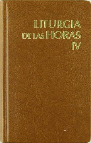 Liturgia de las horas latinoamericana - vol. 4 por Conferencia Epsicopal de México