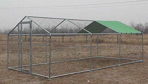 Parc grillagé aluminium 3x6x2.25m