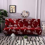 Ruier-hui Sofa-Abdeckung, elastische dickere faltende Anti-Beleg-Wasserdichte Sofa-Futon-Abdeckung für Patio-Couch-Bank