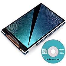 Para Arduino Mega 2560Junta Módulo, longruner uno r33,5TFT pantalla escudo protector de con tarjeta SD socket todos los datos técnicos en CD lsc3a