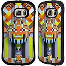 Official Giulio Rossi Eight Geometry Hybrid Case for Samsung Galaxy S6 edge+ / Plus