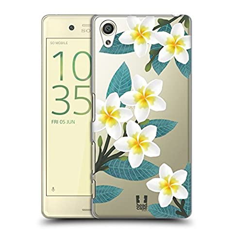 Head Case Designs Plumeria Watercolour Flowers 2 Hard Back Case for Sony Xperia X / X Dual