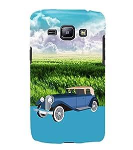 Classic Vintage Old Car Zeep 3D Hard Polycarbonate Designer Back Case Cover for Samsung Galaxy J1 (2016) :: Samsung Galaxy J1 (2016) J120H