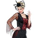 Accessorio per Halloween cerchietto per capelli a forma di ragno travestimento per donna - circa 50 cm