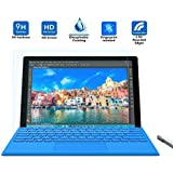 AceTech® Premium Quality Tempered Glass 0.3mm Screen Protector for Microsoft Surface pro 4 12.3 Inch (1 Pack)