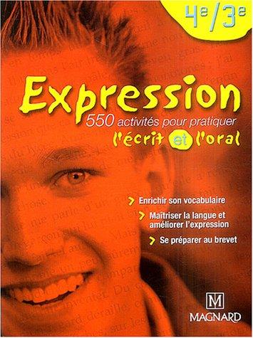 Expression 4e et 3e : Manuel élève par Florence Randanne