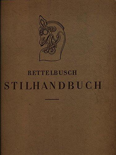 Stilhandbuch - Ornamentik, Möbel, Innenausbau von den ältesten Zeiten bis zum Biedermeier