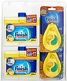 Finish Dishwasher Freshener and Cleaner Multipack