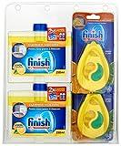 Купить Finish Dishwasher Freshener And Cleaner, Multi-Pack