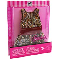Barbie Fashion Fever L3337 Doll Patterned Top Outfit