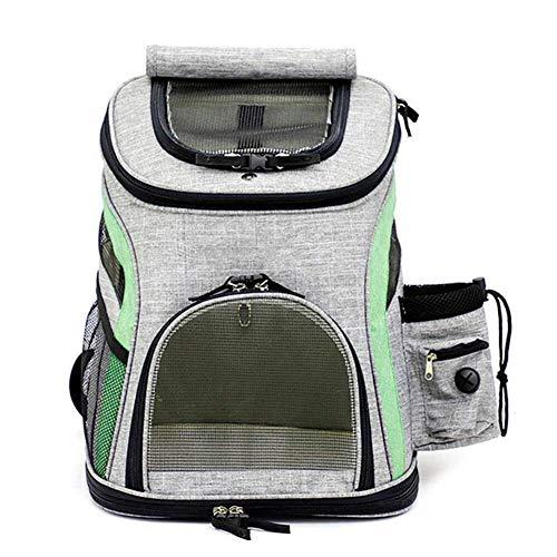 Reise Rucksack für Hund Haustier Rucksack für Haustier im Freien Ultra-atmungsaktive Wäsche Falten große Kapazität einkaufen Trekking