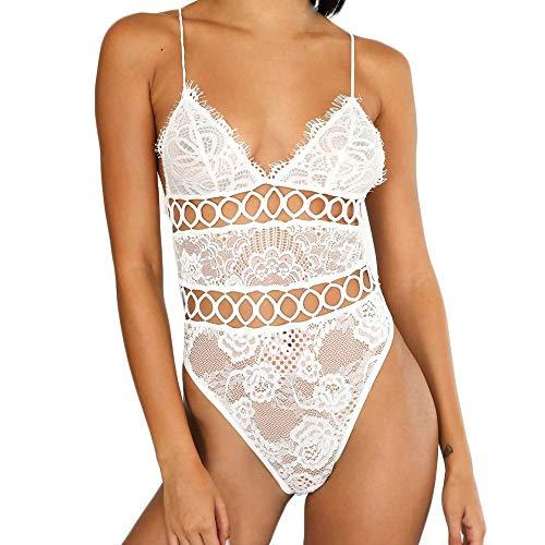 92f08e63d3a Bringbring Fashion Women Lingerie One Piece Babydoll Mini Bodysuit Sexy  Lingerie Underwear