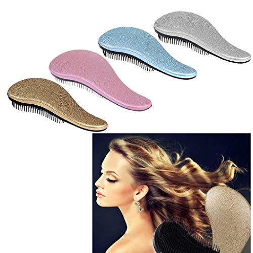 1x Magic Handle Tangle Detangling Comb Shower Hair Brush Styling Salon Tamer New