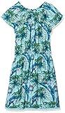 s.Oliver Mädchen Kleid 66.804.82.2810, Blau (Blue AOP 60b9), 140