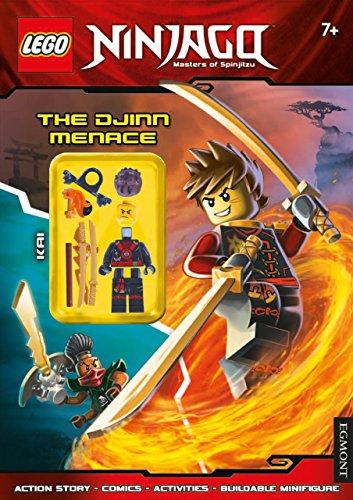 LEGO® Ninjago: The Djinn Menace (Activity Book with Minifigure)