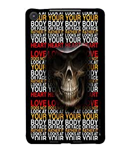 PrintDhaba Typography D-3505 Back Case Cover for ASUS GOOGLE NEXUS 7 2013 (Multi-Coloured)