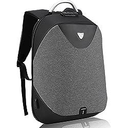 Laptop Rucksack zum Herren-Arctic Hunter Diebstahlschutz Business Rucksack mit USB Zum Notebook, Nomad