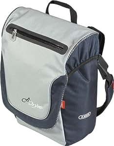ABUS Gepäckträgertasche ST 8555 KF, grau/tartan, 29x35x15 cm, 55081-2