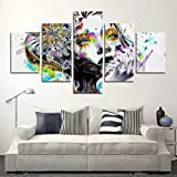 Handser 5d DIY Full Diamant rond Peinture, croix Combinaison multivues 3d mosaïque Mode Décor, 5jeux de Splicing peintures abstraites Dream S HDS157