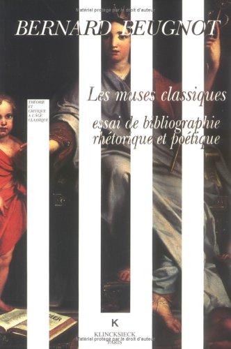 Les muses classiques par Bernard Beugnot