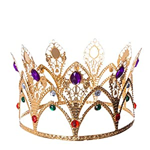 My Other Me Corona de Reina con Piedras Preciosas