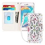FYY Coque iPhone 6S, Coque iPhone 6, [Séries Haut de Gamme] Étui en Cuir de première qualité avec Coverture Toute-Puissante pour iPhone 6/6S Fashion 5