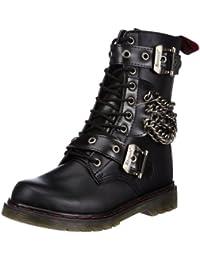 Pleaser Men's Disorder-204 Boot, Black Polyurethane, 6 M US