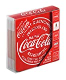 Coca Cola Cork Backed Drinks Coasters, Pack of 6, Red