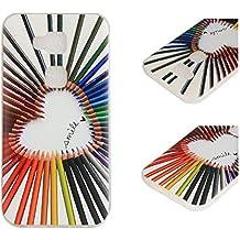 Para Huawei G8 / G7 Plus (5,5 pulgadas) Cáscara ZeWoo® Carcasa y Funda de Silicona - YG011 / Smile