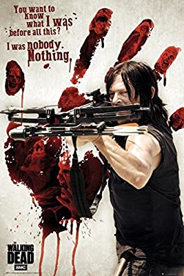 Posters: The Walking Dead Poster - Bloody Hand Daryl (91 x 61 cm)