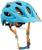 ALPINA Radhelm Carapax, 9688386, Blue/Orange, 57-62 cm