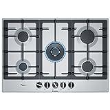 Bosch Serie 6 PCQ7A5B90 piano cottura Acciaio inossidabile Incasso Gas