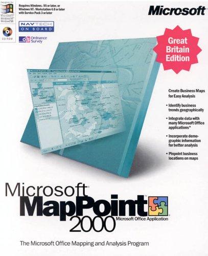 Microsoft Map Point 2000