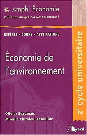Economie de l'environnement (amphi)