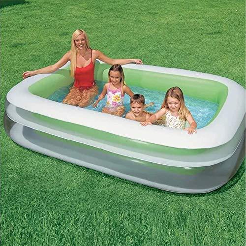 Defect Aufblasbarer Swimmingpool-Quadrat-Säuglings-aufblasbarer Pool-Ozean-Ball-Pool 262 * 175 * 56Cm