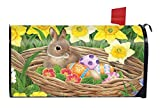 Best Briarwood Lane Garden Decors - Easter Egg Basket Magnetic Mailbox Cover Holiday Bunnies Review