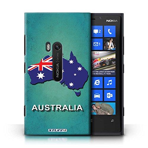 Kobalt® Imprimé Etui / Coque pour Nokia Lumia 920 / nouvelle Zélande conception / Série Drapeau Pays Australie