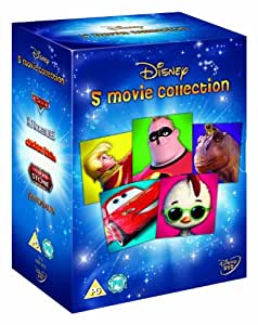Classic Box Set for Boys (Cars, Incredibles, Chicken Little, Sword in the Stone, Dinosaurs) [DVD]