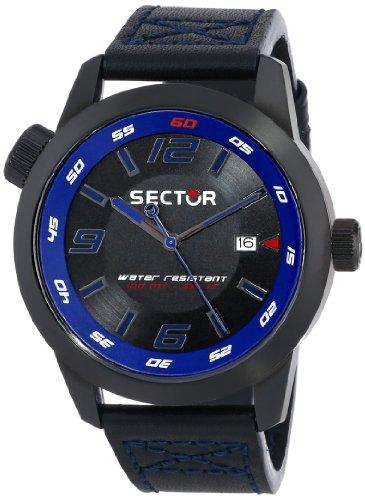 Sector  R3251102020 - Reloj de cuarzo para hombre, con correa de acero inoxidable, color plateado
