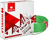Havells Life Line Plus 4 sq mm PVC HRFR Cable (Green)