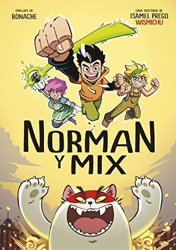 Superhéroes muy especiales Norman y Mix