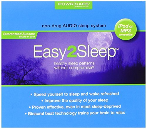 Easy2sleep Cd/ipod Easy2sleep Audio System, 2.0 ounces Digipack by Easy2sleep Cd/ipod