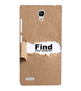 Ebby Premium Printed Mobile Back Case Cover With Full protection For Xiaomi Redmi Note 4G (Designer Case)