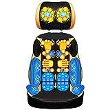 WEII Massagegerät Massagekissen Multifunktions Halswirbel Rücken Taille Körpermassage Kissen Elektrische Heizung Massagegerät