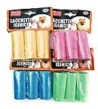 DC 180bolsas higiénicas para perros–conf. de 180piezas.–Varios colores disponibles