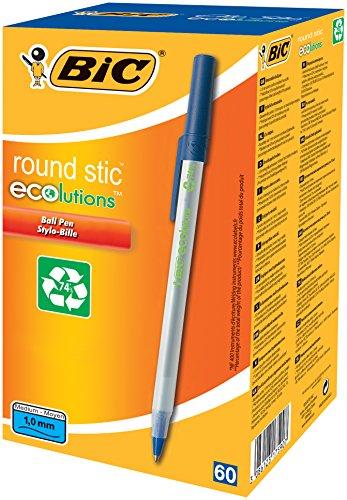 BIC Round Stic – Paquete de bolígrafos reciclado