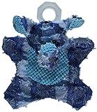 NVMK SALES Nandog My BFF Unstuffed Patch Corduroy Elephant Plush Toy, Blue
