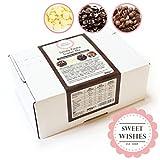 Sweet Wishes 900g Fondue-Schokolade aus Belgien Schoko-Mix aus Vollmilch