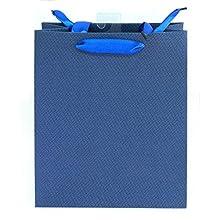 Idena 30220 - Borsa Regalo, Colore: Blu